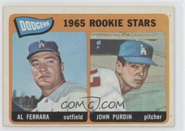 1965 Topps #331 - Al Ferrara, John Purdin [GoodtoVG‑EX]