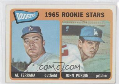 1965 Topps #331 - Al Ferrara, John Purdin