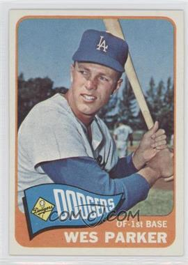 1965 Topps #344 - Wes Parker