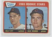 Cubs' Rookie Stars (Billy Ott, Jack Warner)