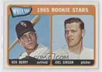 1965 Rookie Stars (Ken Berry, Joel Gibson)