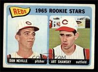 1965 Rookie Stars Reds (Dan Neville, Art Shamsky) [GOOD]