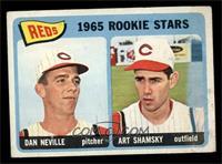 1965 Rookie Stars Reds (Dan Neville, Art Shamsky) [VG]
