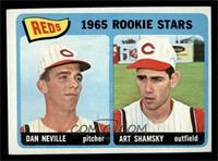 1965 Rookie Stars Reds (Dan Neville, Art Shamsky) [EX]