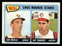1965 Rookie Stars Reds (Dan Neville, Art Shamsky) [NM]