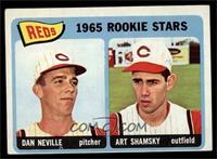 1965 Rookie Stars Reds (Dan Neville, Art Shamsky) [EXMT]