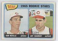 1965 Rookie Stars Reds (Dave Nelson, Art Shamsky) [GoodtoVG‑E…