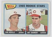 1965 Rookie Stars Reds (Dave Nelson, Art Shamsky)