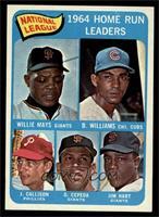 Willie Mays, Billy Williams, John Callison, Orlando Cepeda, Jim Hart [NMM…