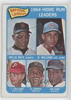 Willie Mays, Billy Williams, John Callison, Orlando Cepeda, Jim Hart [Good&nbsp…