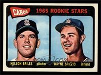 Cardinals 1965 Rookie Stars (Nelson Briles, Wayne Spiezio) [NMMT]