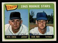 Senators 1965 Rookie Stars (Pete Craig, Dick Nen) [NM]