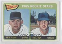 Senators 1965 Rookie Stars (Pete Craig, Dick Nen)