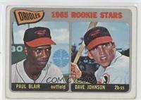Orioles Rookie Stars (Paul Blair, Dave Johnson) [GoodtoVG‑EX]