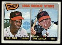 Orioles Rookie Stars (Paul Blair, Dave Johnson) [EX MT]