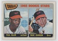 Orioles Rookie Stars (Paul Blair, Dave Johnson)