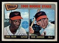 Orioles Rookie Stars (Paul Blair, Dave Johnson) [VG]