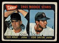 Cards 1965 Rookie Stars (Fritz Ackley, Steve Carlton) [GOOD]