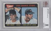 Cards 1965 Rookie Stars (Fritz Ackley, Steve Carlton) [BVG8]