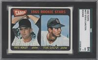 Cards 1965 Rookie Stars (Fritz Ackley, Steve Carlton) [SGC84]