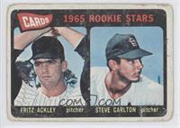 Cards 1965 Rookie Stars (Fritz Ackley, Steve Carlton)