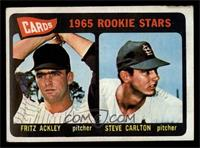 Cards 1965 Rookie Stars (Fritz Ackley, Steve Carlton) [GOOD]
