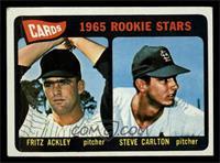 Cards 1965 Rookie Stars (Fritz Ackley, Steve Carlton) [VG]