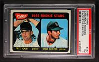 Cards 1965 Rookie Stars (Fritz Ackley, Steve Carlton) [PSA7]