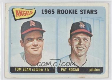 1965 Topps #486 - Angels 1965 Rookie Stars (Tom Egan, Pat Rogan) [GoodtoVG‑EX]