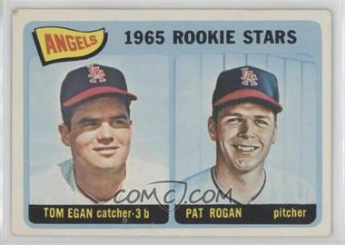 1965 Topps #486 - Angels 1965 Rookie Stars (Tom Egan, Pat Rogan) [Good to VG‑EX]