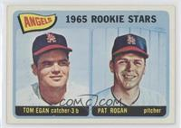 Angels 1965 Rookie Stars (Tom Egan, Pat Rogan) [GoodtoVG‑EX]