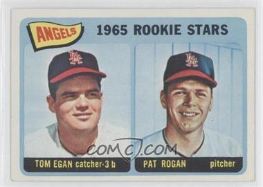 1965 Topps #486 - Angels 1965 Rookie Stars (Tom Egan, Pat Rogan)