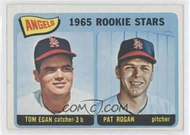 1965 Topps #486 - Angels 1965 Rookie Stars (Tom Egan, Pat Rogan)
