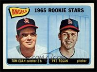 Angels 1965 Rookie Stars (Tom Egan, Pat Rogan) [EX MT]