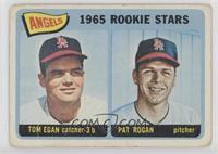 Angels 1965 Rookie Stars (Tom Egan, Pat Rogan) [Poor]