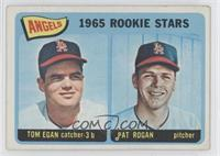 Angels 1965 Rookie Stars (Tom Egan, Pat Rogan) [Good to VG‑EX]