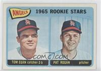 Angels 1965 Rookie Stars (Tom Egan, Pat Rogan)