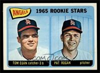 Angels 1965 Rookie Stars (Tom Egan, Pat Rogan) [EX]