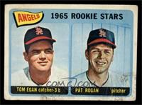 Angels 1965 Rookie Stars (Tom Egan, Pat Rogan) [GOOD]