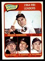 Brooks Robinson, Mickey Mantle, Harmon Killebrew [NM]