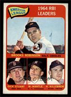 Brooks Robinson, Mickey Mantle, Harmon Killebrew [EX]