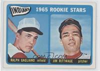 Indian's 1965 Rookie Stars (Ralph Gagliano, Jim Rittwage)