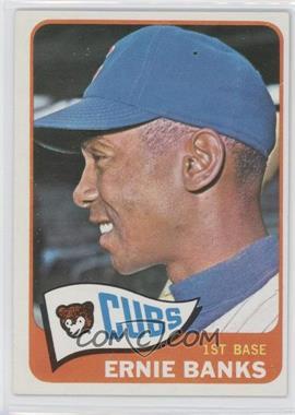 1965 Topps #510 - Ernie Banks
