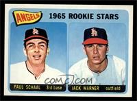 Angels 1965 Rookie Stars (Paul Schaal, Jackie Warner) [NM MT]