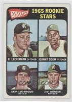 1965 Rookie Stars (Rene Lachemann, Johnny Odom, Skip Lockwood, Jim Hunter) [Goo…