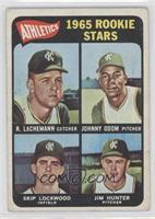 1965 Rookie Stars (Rene Lachemann, Johnny Odom, Skip Lockwood, Jim Hunter) [Goo…
