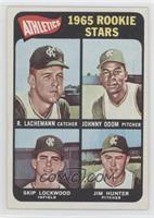 1965 Rookie Stars (Rene Lachemann, Johnny Odom, Skip Lockwood, Jim Hunter)