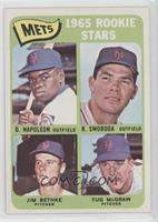 Mets Rookie Stars (Dan Napoleon, Ron Swoboda, Jim Bethke, Tug McGraw)