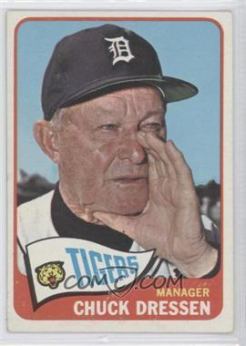 1965 Topps #538 - Chuck Dressen