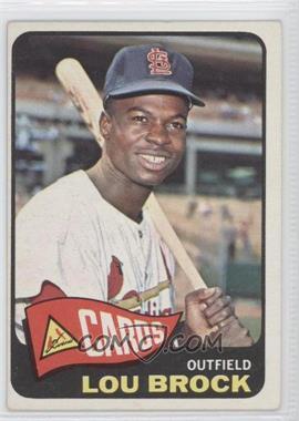 1965 Topps #540 - Lou Brock